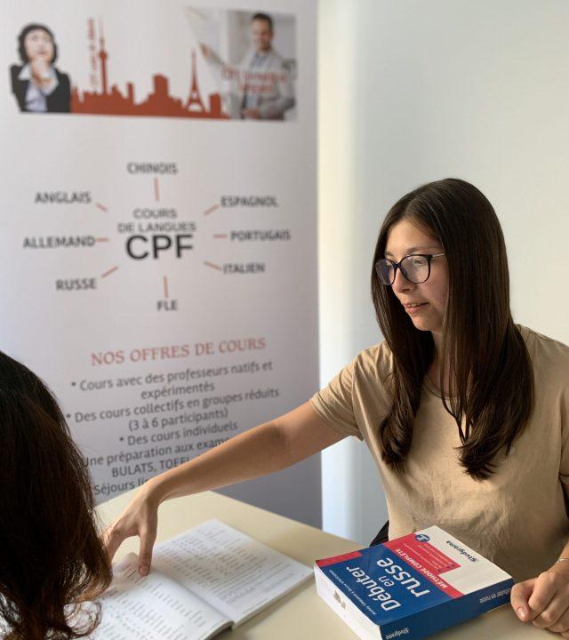 cours de russe CPF à Lyon
